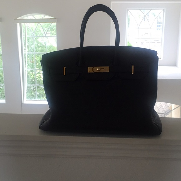 9be897bcded4 Hermes Handbags - Black Hermes Birkin 30 cm - Togo - Gold Hardware